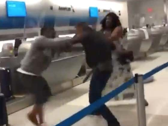 We May Have Our Most Impressive Airport Fight Yet With Two Guys Brawling At The Check-In Counter