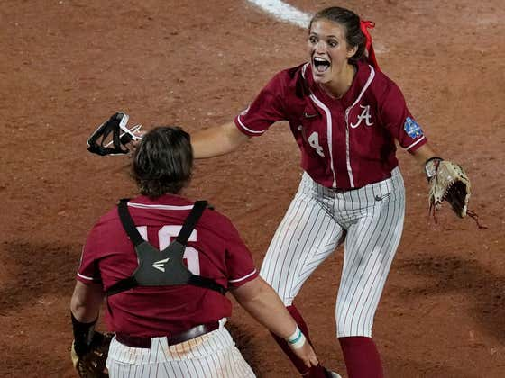 Montana Fauts' Perfect Game In The Women's College World Series Will Be The Most Dominant Thing You See Today