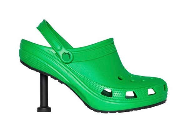 The Must Have Fashion Accessory Of The Summer Is Here: Stiletto Crocs