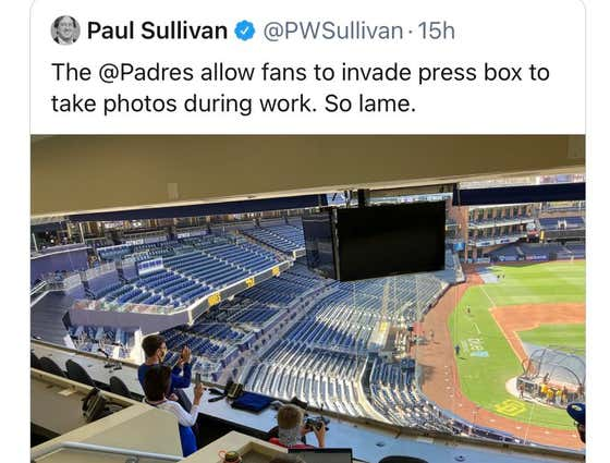 I'll Say What Everyone Else Is Afraid to Say: The Press Box Guy Was Right