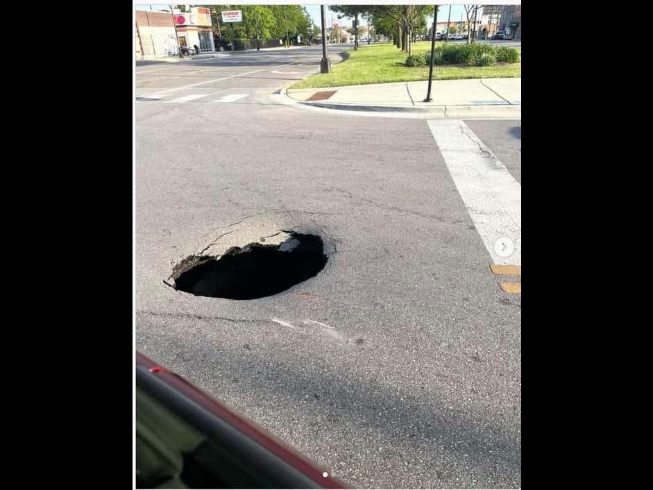 Chicago Potholes Just Hit Different