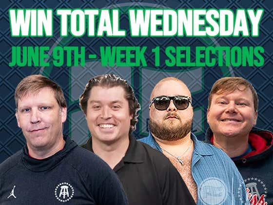 Win Total Wednesday: Volume 1
