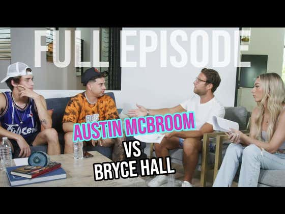 Austin McBroom Says He'll Knockout Bryce Hall This Weekend