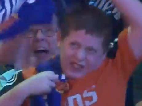 This Kid Going Goddamn Bananas At The Suns Game Last Night Just Stole The Prestigious Blake Of The Year Award