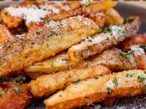No Hassle Truffle Fries
