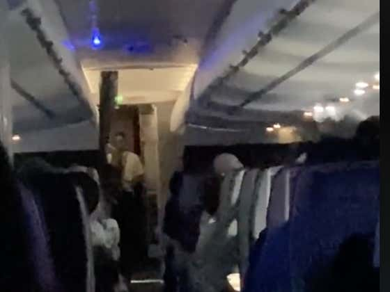 Today In The Friendly Skies: A Flight Attendant Yelled At An Entire Plane After Being Heckled By Passengers And Told To Suck Their Dicks