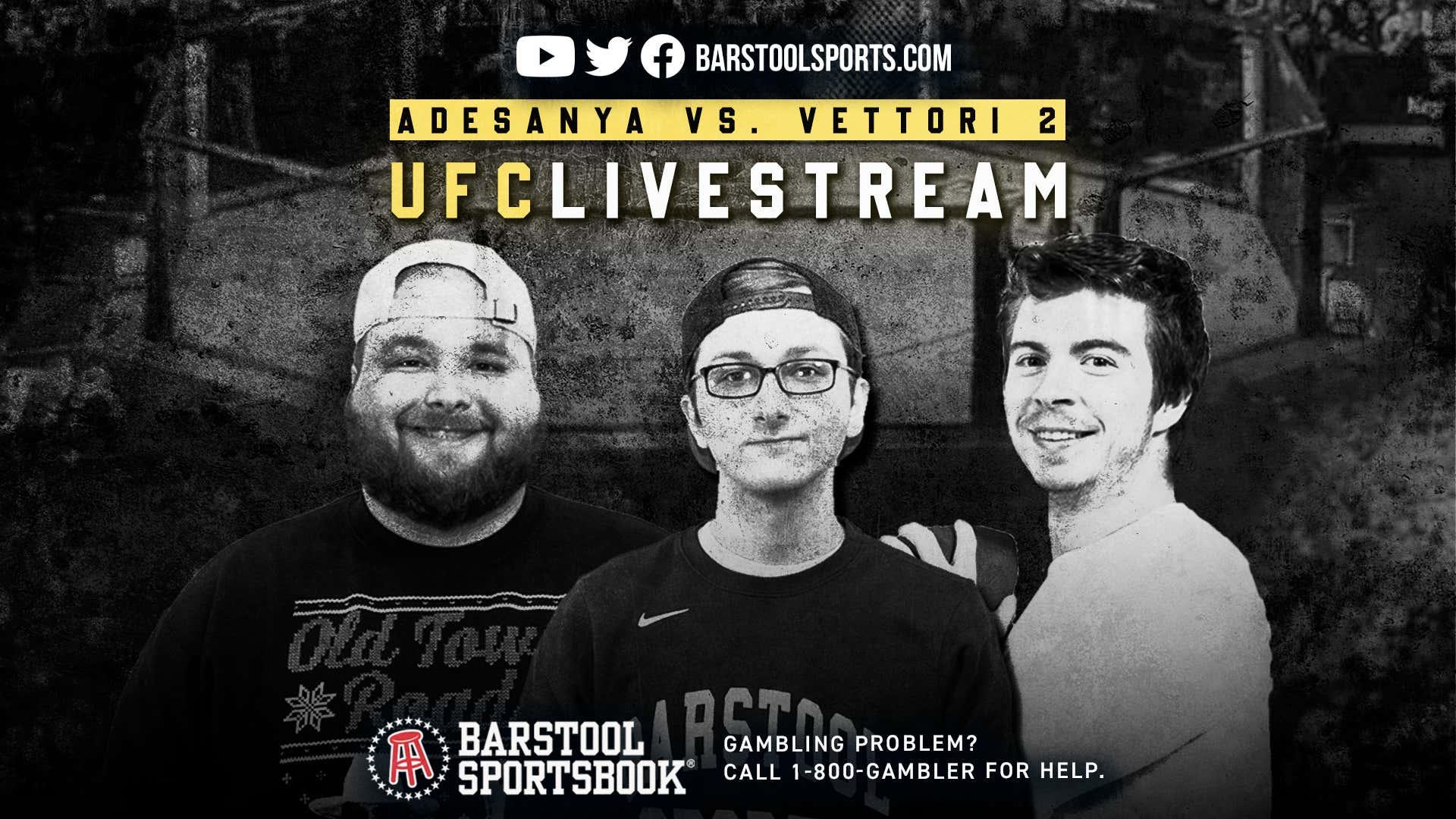 Live from the Gambling Cave: UFC 263: Adesanya VS. Vettori