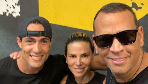 Hmm...ARod Is Hanging Out With His Ex Wife And Posting About It