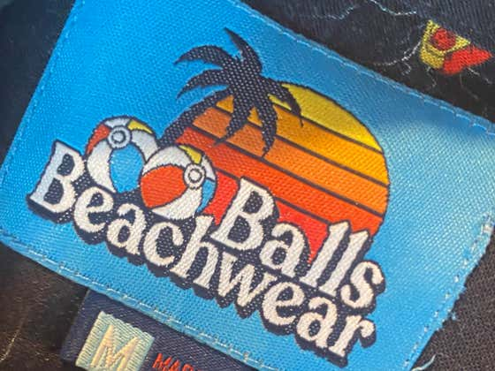Balls Beachwear Is Officially A GO & We Are Taking No Prisoners