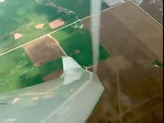 Some Maniac Pilot Decided To Fly As Close To A Tornado As Possible Without Actually Touching It