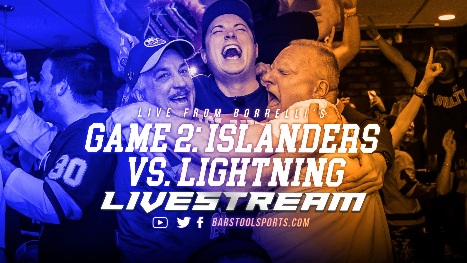 LIVE FROM BORRELLI'S: Islanders vs Lightning Game Two Electric Chair
