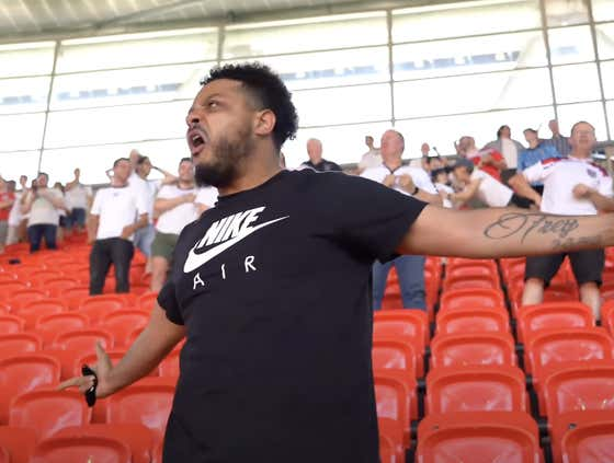 ITS COMING HOME!!! Troopz Was Back At Wembley As England Took On Croatia