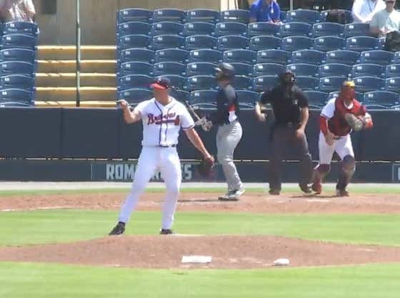 This MiLB Pitcher Recorded a Strikeout, Turned Around and Completely Showed Up an Umpire and Got Tossed in About Two Seconds