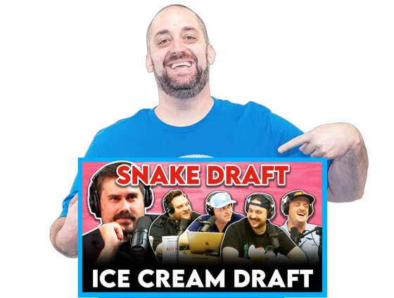 Don't Mind Me, I Just Won The Dog Walk Ice Cream Draft By Picking Nothing But Undrafted Free Agents