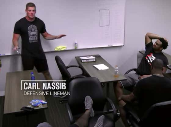 Long Before He was Out, Carl Nassib Was the NFL's No. 1 Financial Advisor