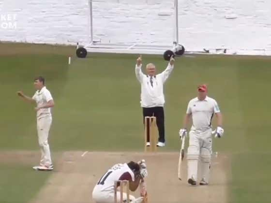Cricket Dude Unloads On A Pitch To The Parking Lot.... Promptly Shatters His Own Car Window And Gets Mocked On The Field