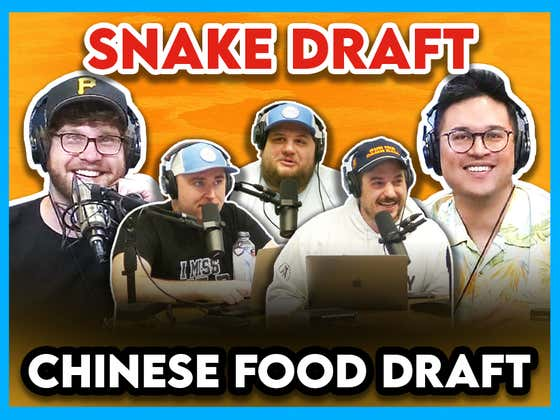 Chinese Food Draft (ft. Steven Cheah & Nick)