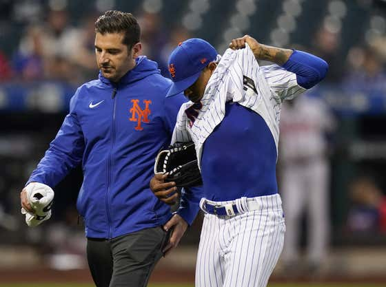 Marcus Stroman Became The 4th Mets Pitcher To Go Down With An Injury In 48 Hours And I'm Trying Reeeeeeal Hard Not To Lose My Fucking Mind
