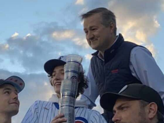 There's A Bad Rumor Going Around The Internet That Tom Ricketts Killed Cup Snakes Last Night*