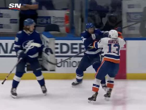 That Maniac Mat Barzal Clearly Grew Up Watching Nothing But Todd Bertuzzi Highlights