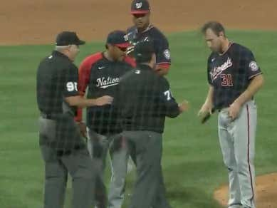 Max Was Ready To Drop His Pants After The Umps Checked Him For A THIRD Time For No Reason