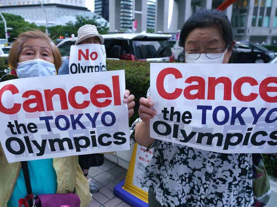 The Olympic Ceremonies are a Trainwreck Before They've Started as People in Charge are Getting Fired for Old Holocaust Jokes and Torturing Disabled Kids