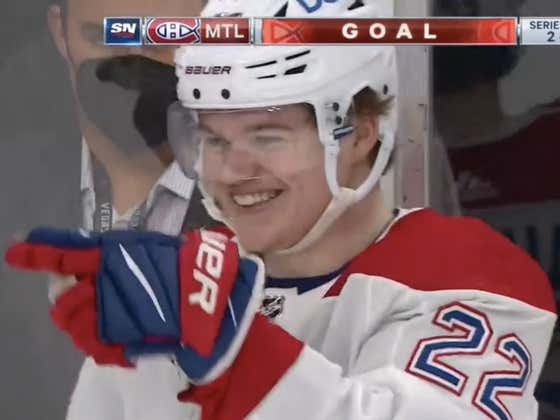 Goalies Are Going To Be Having Nightmares Of Cole Caufield's Shit Eating Grin For Years To Come