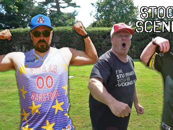 Pardon My Take Goes to Stu Feiner's House for the Ultimate Bro Day