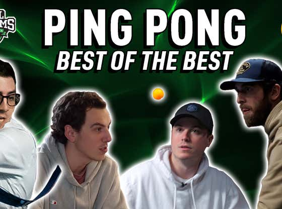 Stool Streams: The $2000 Ping Pong Battle To Discover Who The Best In The Office Is