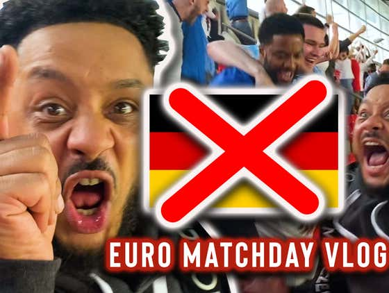 REDEMPTION!! STERLING & KANE SEND THE GERMANS OUT OF THE EUROS | ENGLAND 2-0 GERMANY | MATCHDAY VLOG