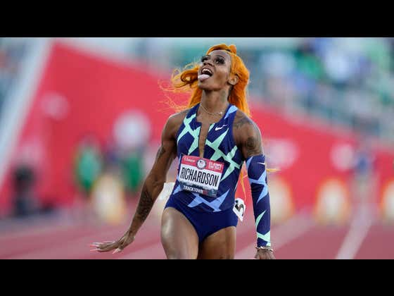 Sha'Carri Richardson - The Fastest Woman Alive - Has Been Suspended From The Olympics For Testing Positive For Marijuana In The Year Of Our Lord 2021