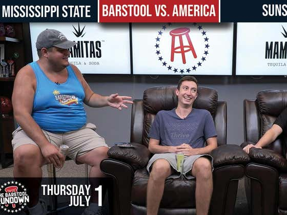 Barstool Rundown - July 1, 2021