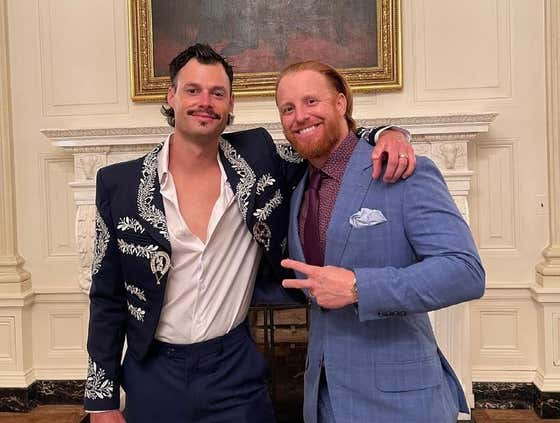 Joe Kelly Traded a Fan for His Mariachi Jacket and Wore It to the White House
