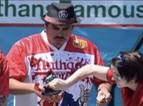The Line Has Been Set, Over/Under 73.5 For American Hero Joey Chesnut In The Nathan's Hot Dog Eating Contest