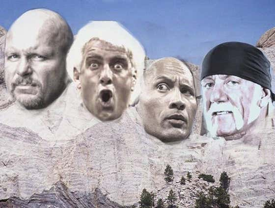Who Is On Your Personal 'Mount Rushmore' Of Pro Wrestlers?
