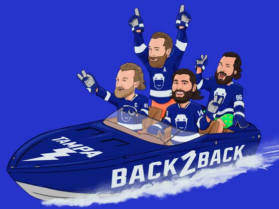 THE TAMPA BAY LIGHTNING ARE STANLEY CUP CHAMPIONS