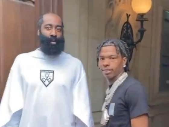 James Harden And Lil Baby Are Too Damn Confused About The Paparazzi At Paris Fashion Week