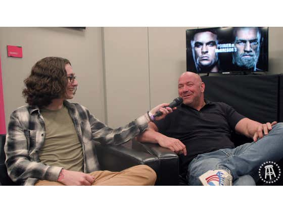 Catching Up With Dana White Ahead Of UFC 264