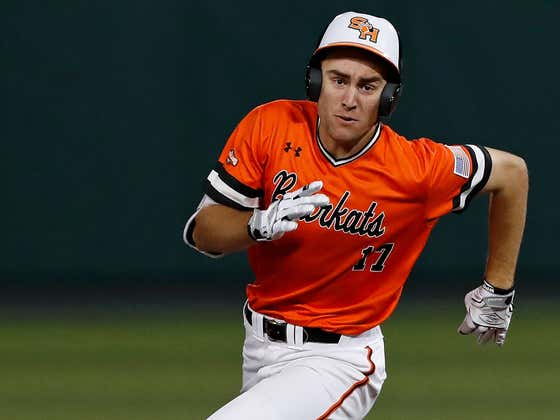 The Number 5 Pick In The MLB Draft Didn't Recognize A Number Calling Him Last Night So He Didn't Answer It. Spoiler Alert - It Was The Orioles Trying To Draft Him.