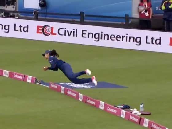 Screw Play Of The Weekend, This Cricket Catch Might Be The Most Insanely Athletic Play Of The Year