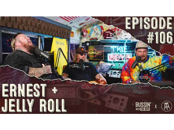 ERNEST & Jelly Roll Are Hungover | Bussin' With The Boys