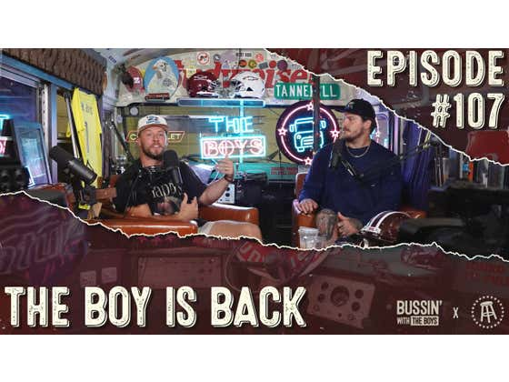 The Boy Is Back | Bussin' With The Boys