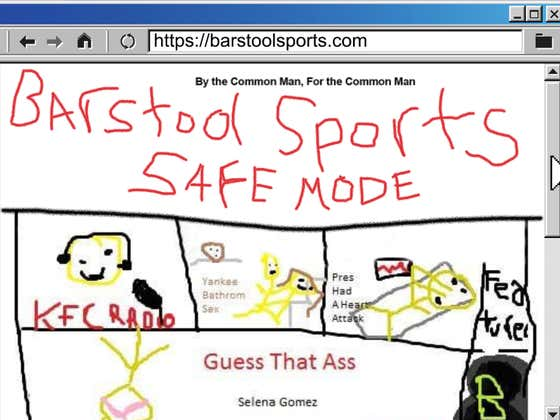 The History Of Barstool Safemode 2.0