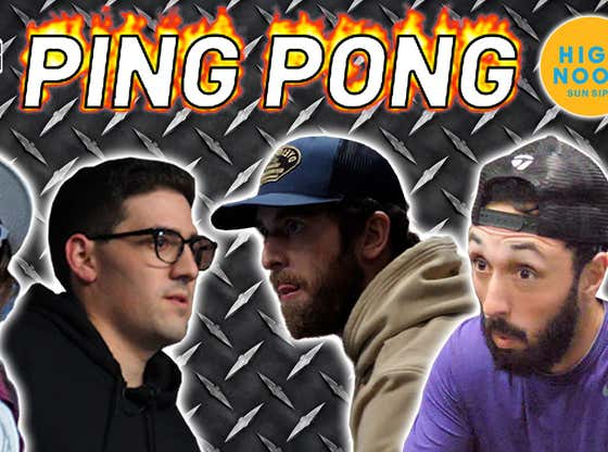 Stool Streams LVIII: PFT And Hank Double Up In Ping Pong Rematches