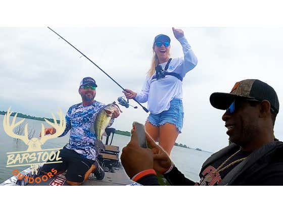 We Won a Bass Fishing Tournament with Deion Sanders & Greg Hackney!