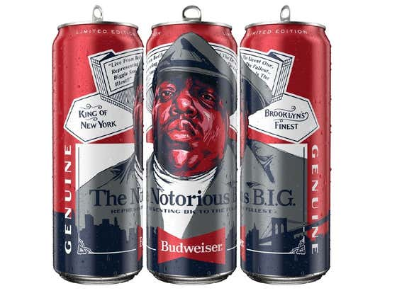 Budweiser Honored The Greatest Rapper Of All Time With His Own Limited Edition Can, And Now I Need An Entire Bud Heavy Fat Guy Musician Can Line