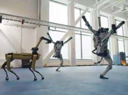 The Boston Dynamics Killer Robots Are #Back And Dancing Right In Our Dumb Human Faces