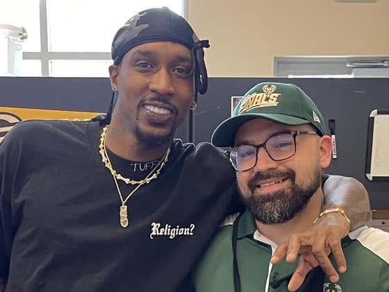 """It Has To Be A Good Sign That """"Bucks In 6"""" Creator Brandon Jennings Will Be In The Building Tonight"""