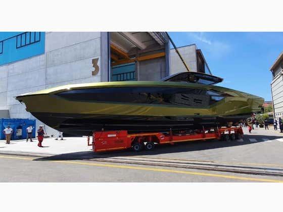 Check Out Conor McGregor's New Lamborghini Yacht