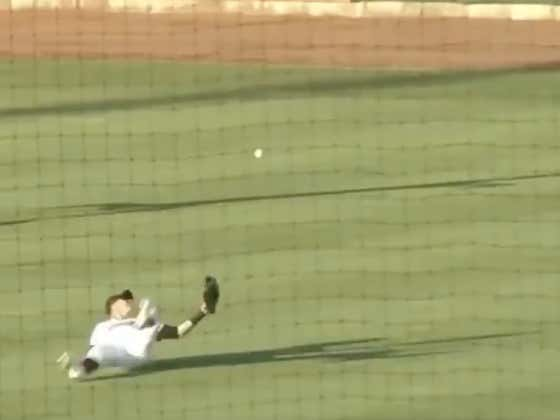 Drew Robinson Makes One Last Spectacular Play Before He Closes The Book On His Playing Career